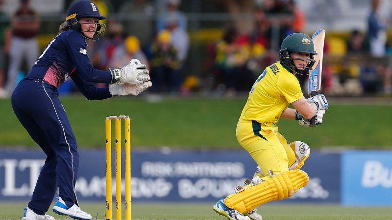 Blackwell's unbeaten 67 powers Australia to narrow win - ESPNcricinfo