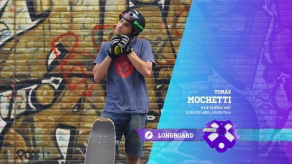 Por las calles de Buenos Aires, en longboard - ESPN Video