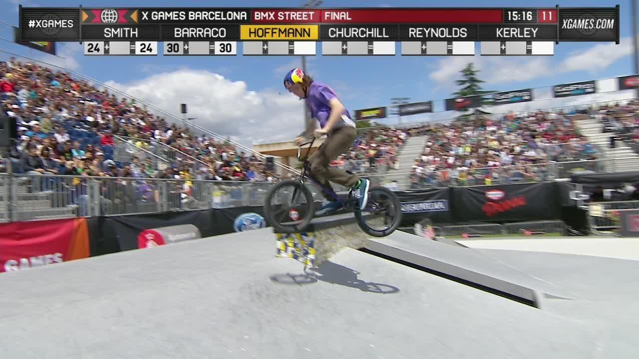 X Games Bmx Street 2013 Bruno Hoffman wins X G...
