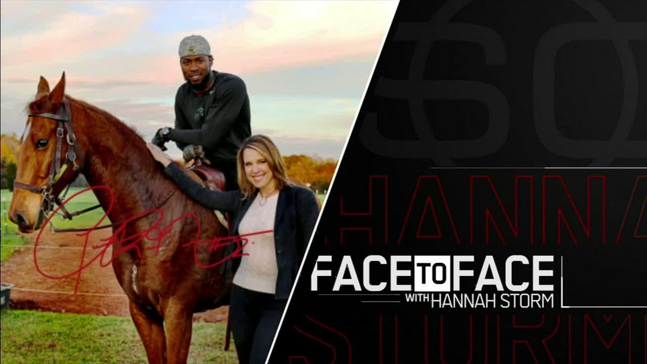 Josh norman goes face to face with hannah storm espn video