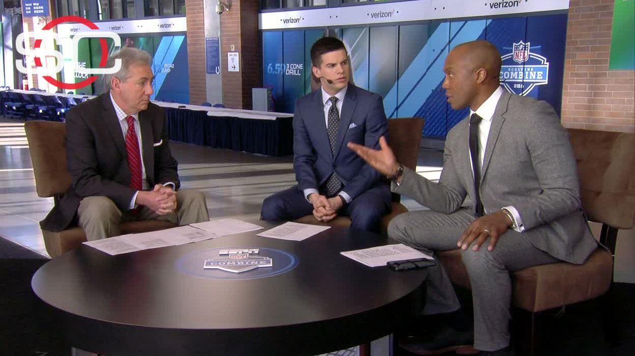 Gronk Body Slam >> Defensive line to define NFL draft? - ESPN Video