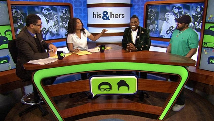 What is the inspiration behind Antonio Browns hair? - ESPN Video