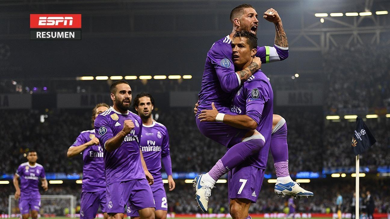 Juventus vs. Real Madrid - Resumen de Juego - 3 junio ...