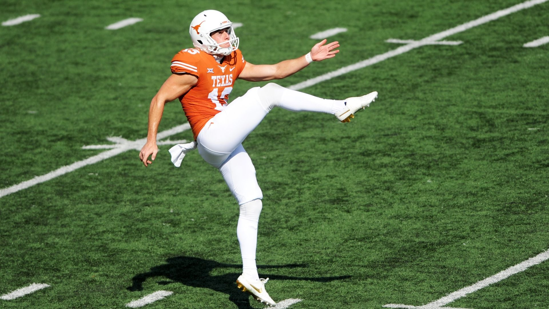 Texas punter Michael Dickson gets eyebrow-raising ask by Seahawks at combine