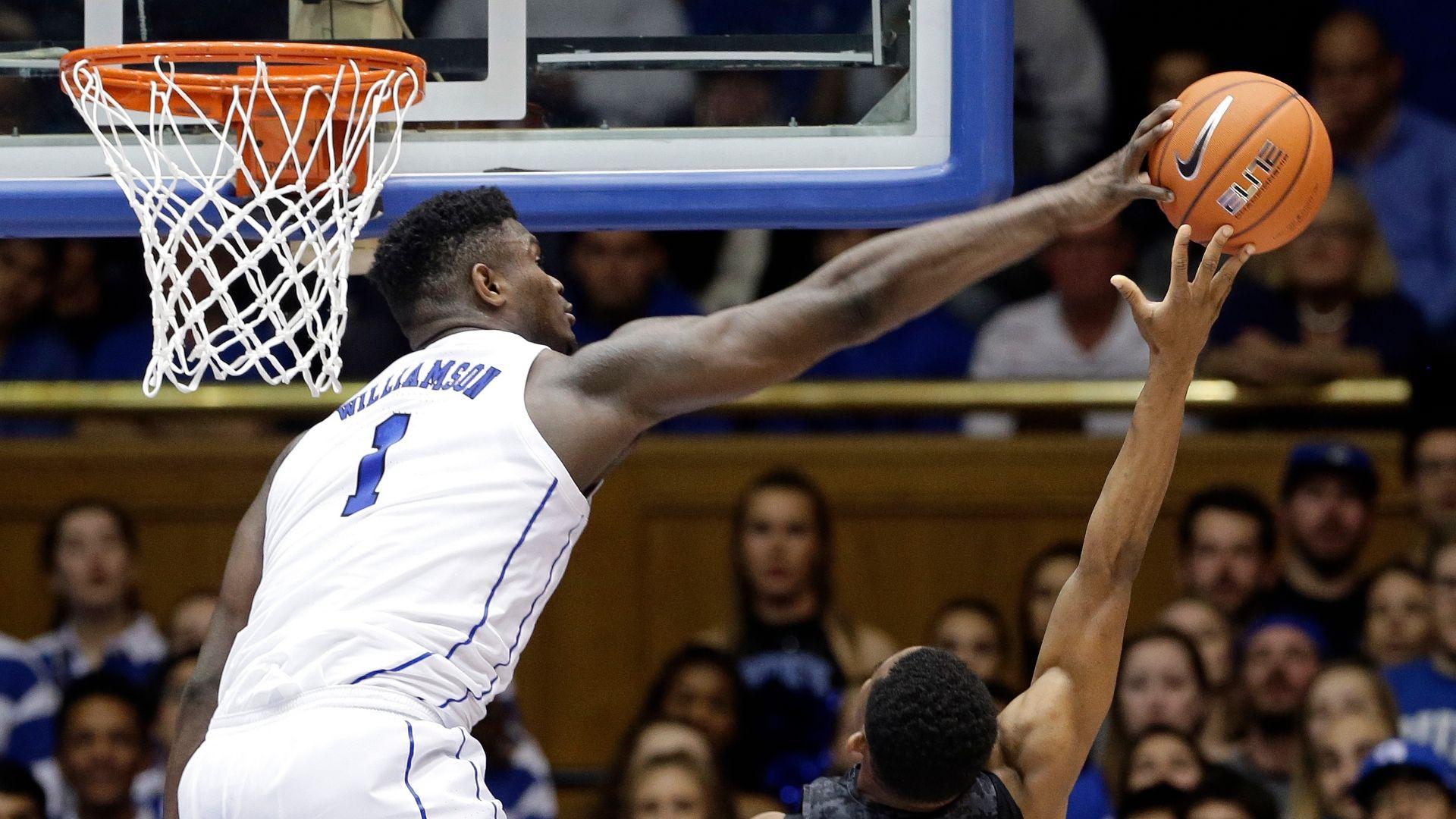 Zion shows off athleticism in Duke win - ESPN Video