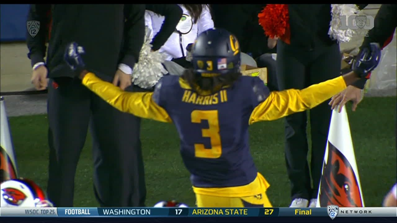 J goff pass to m harris for 13 yds for a td espn video for Cid special bureau 13 feb 2015