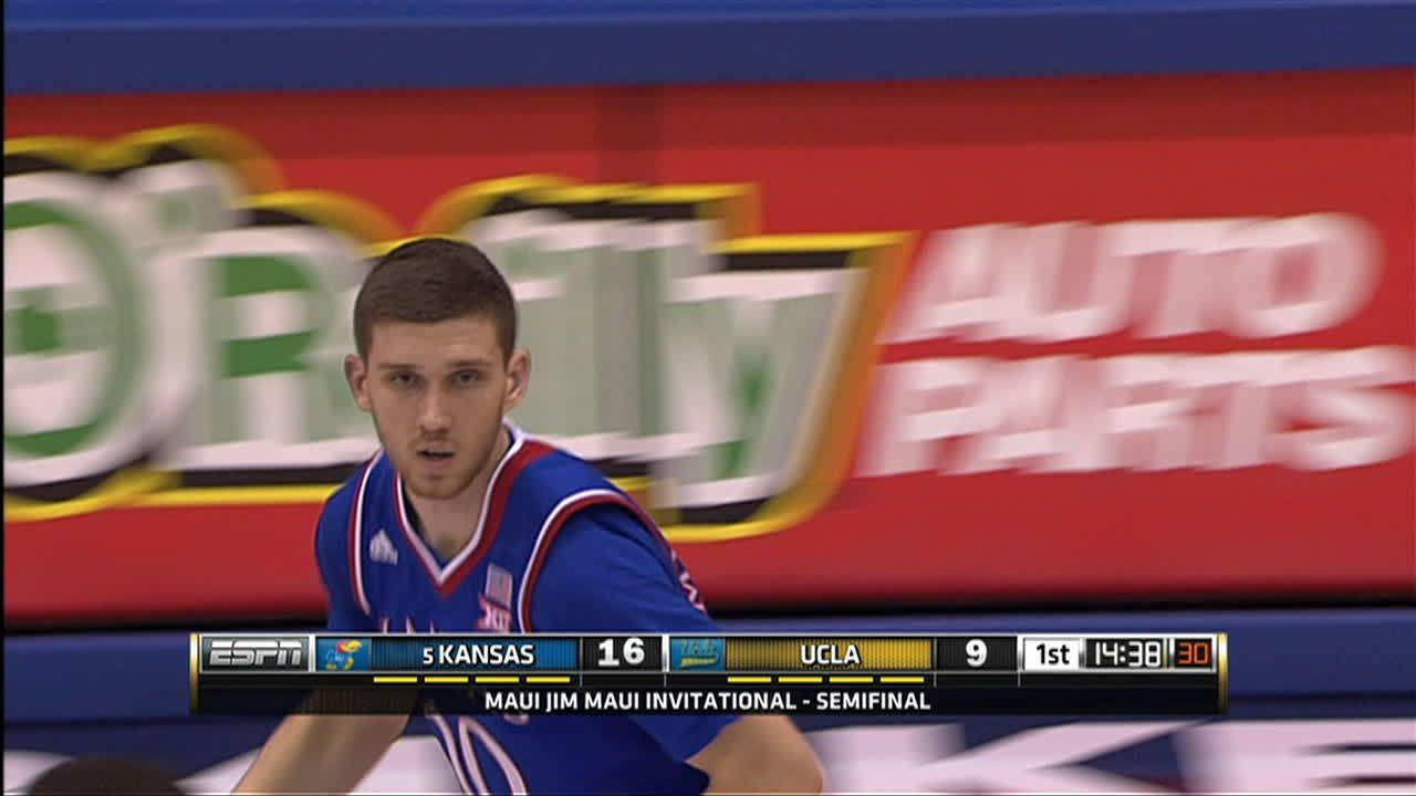 S. Mykhailiuk made Three Point Jumper. Assisted by F ...
