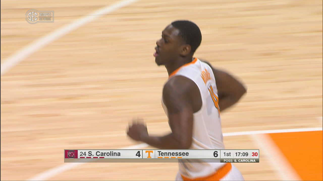 A. Moore Steal and score