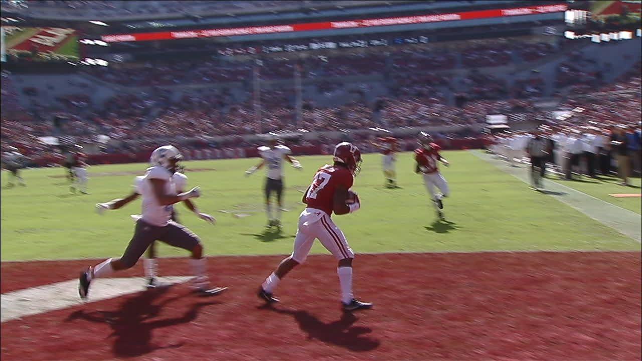 Tied at half, No. 1 Alabama romps past The Citadel 50-17