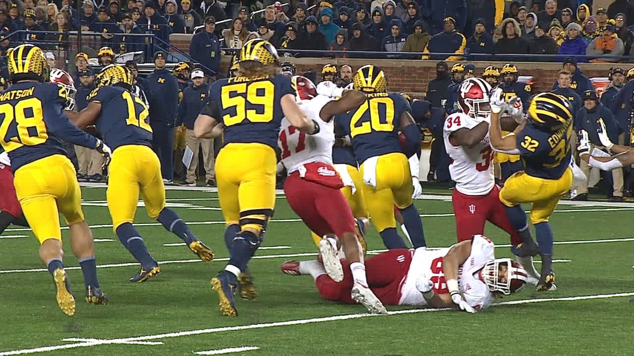 Jim Harbaugh: Chase Winovich 'progressing well,' but status for Ohio St. up in air