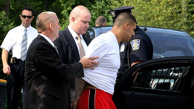 Murder charge for Aaron Hernandez