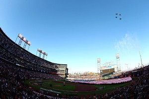 Giants willing to share AT&T Park