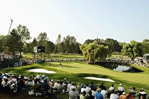 Golf fans can vote for pin position