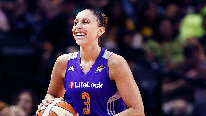 Diana Taurasi of Phoenix Mercury ties Lisa Leslie with 8th All-WNBA appearance
