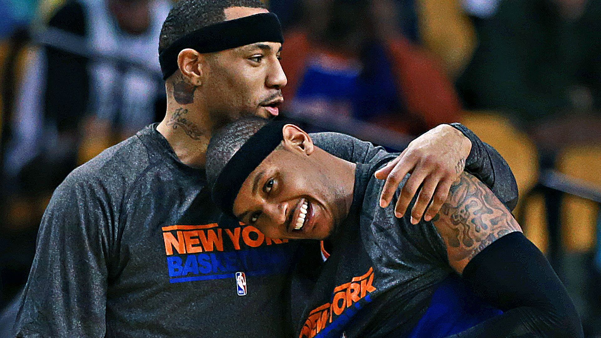 Kenyon Martin J R Smith among players quick to respond to George