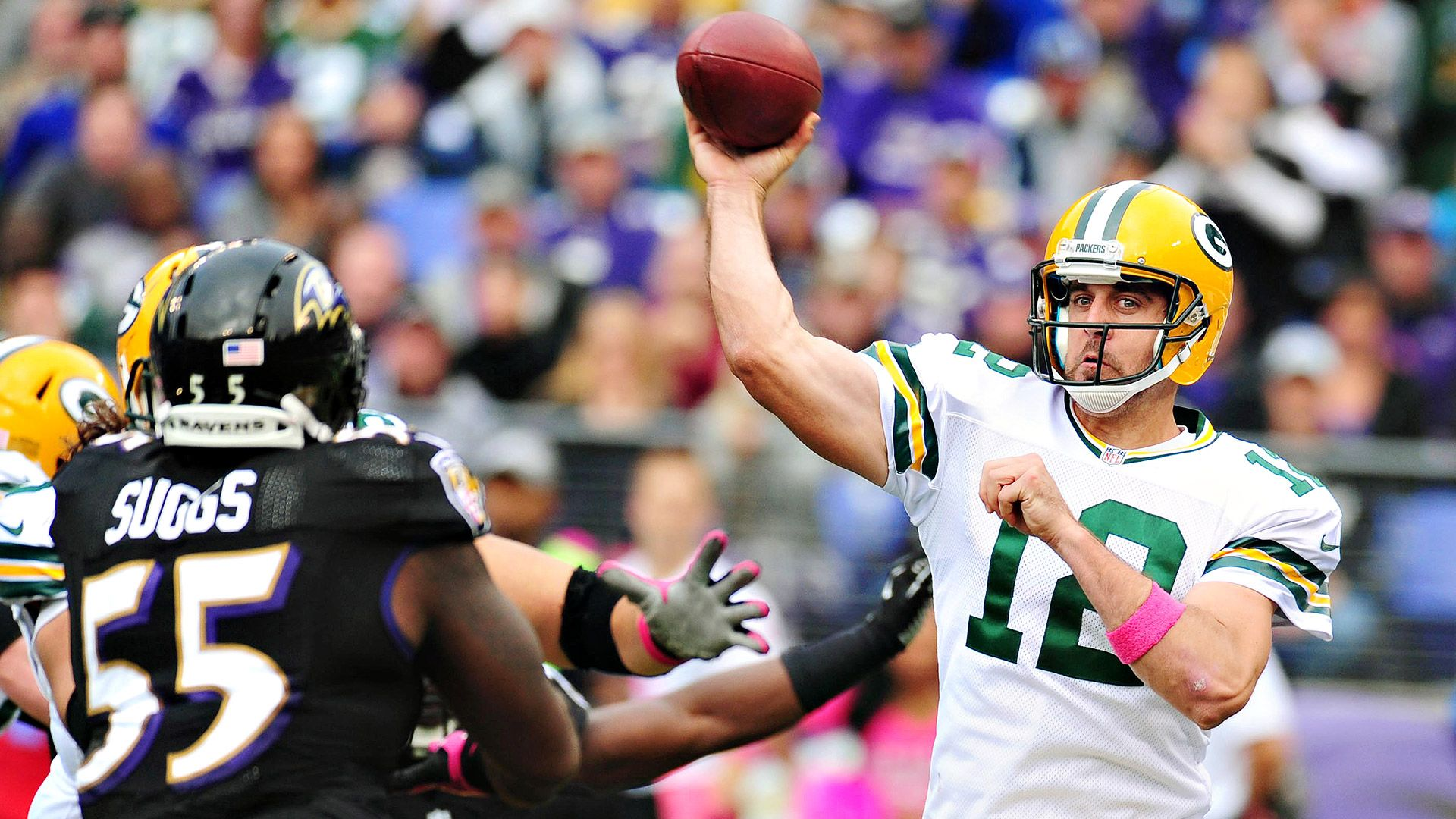 Green Bay Packers quarterback Aaron Rodgers discusses offseason rest, training for arm