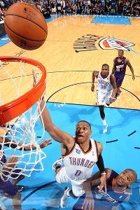 Russell Westbrook scores 21 in return as Thunder win
