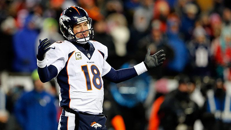 Peyton Manning: Same QB in cold