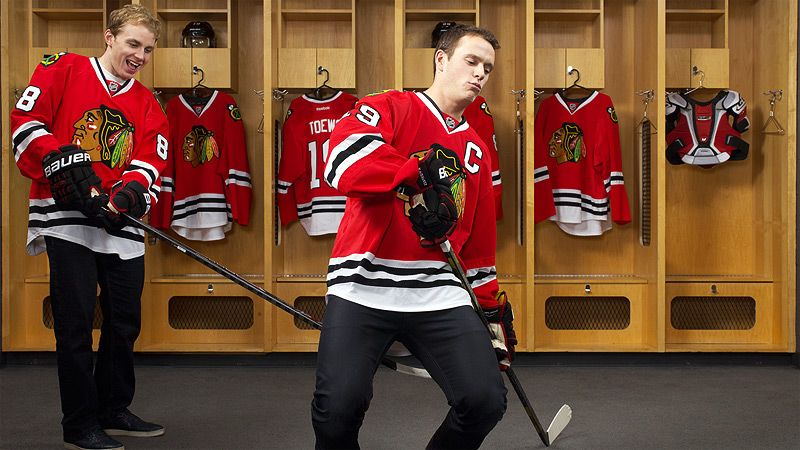 chicago blackhawks patrick kane and jonathan toews are nhl