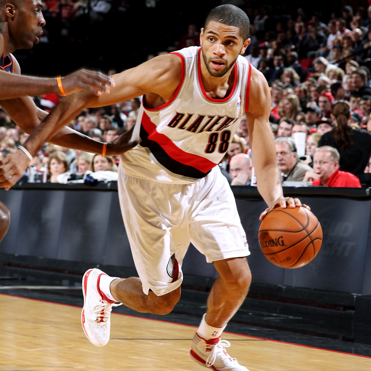 Nicolas Batum Of Portland Trail Blazers To Wear Splint On