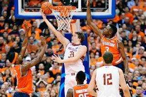Boston College stuns No. 1 Syracuse in OT to end unbeaten season