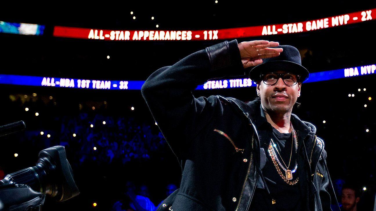 Sixers retire Allen Iverson's No. 3