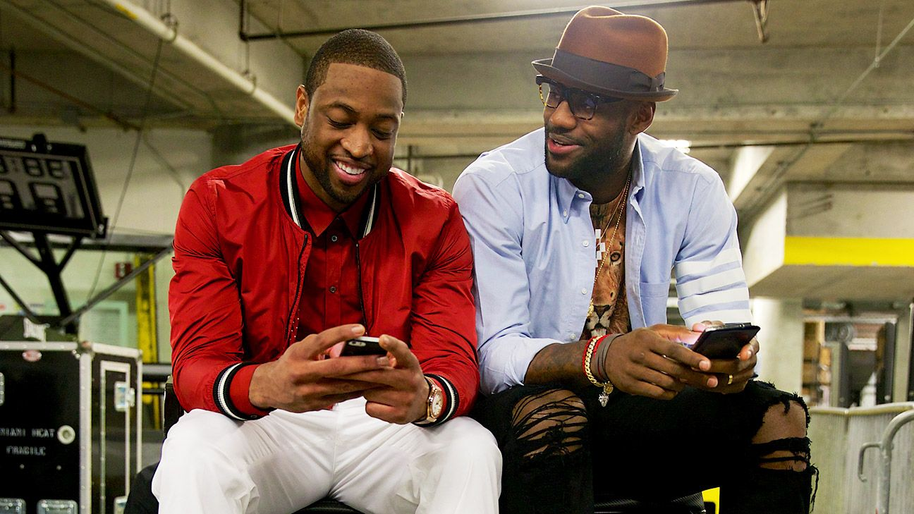 Dwyane Wade supportive of LeBron