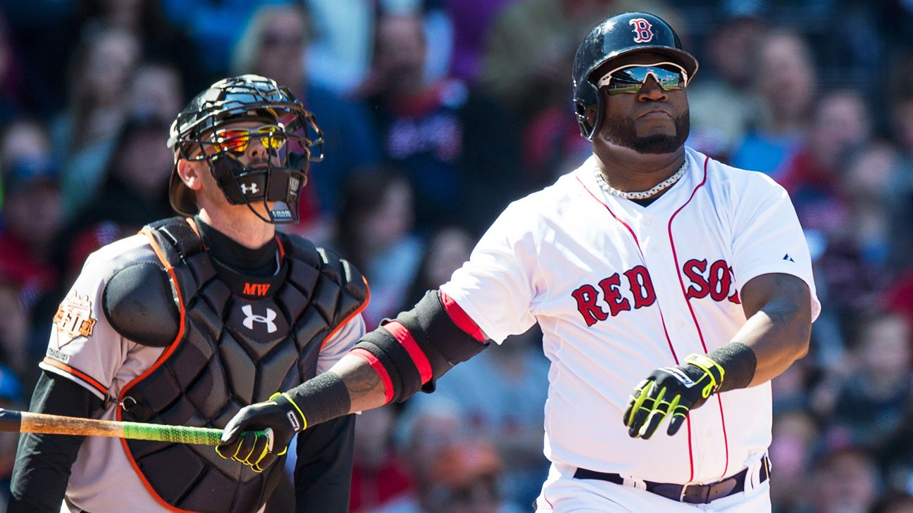 The Boston Red Sox's David Ortiz excels on Sunday Night Baseball. - Stats & Info- ESPN