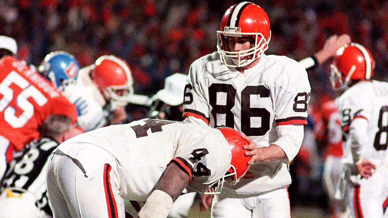 Earnest Byner's emotional apology brings 'Believeland' to life
