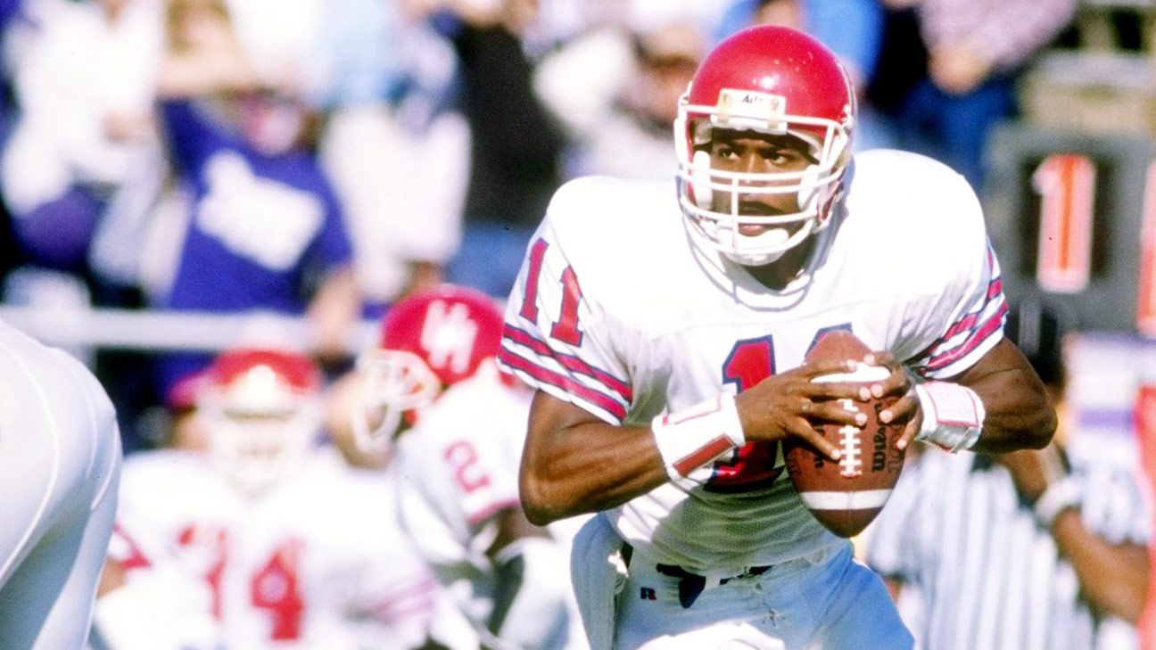 Houston S Andre Ware Changed The Game 25 Years Ago