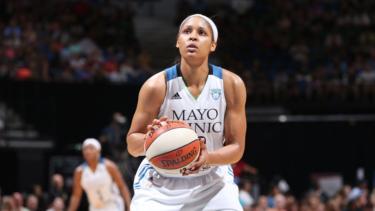 The unstoppable Maya Moore