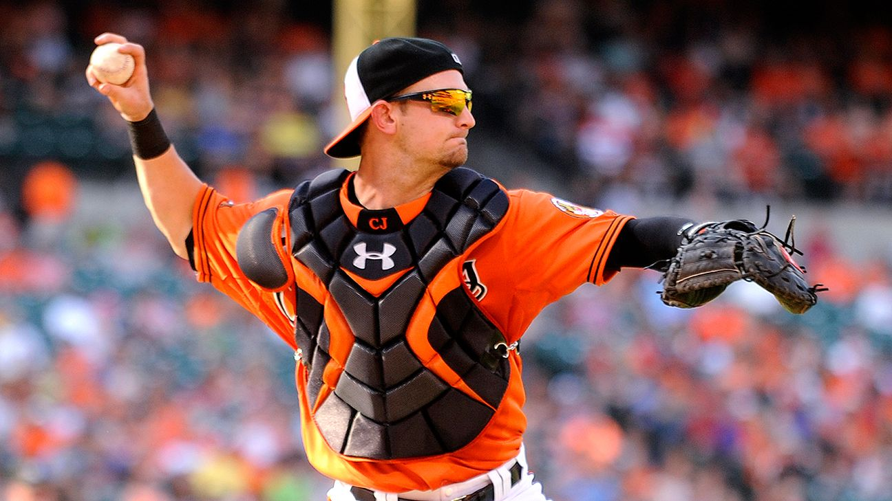 Baltimore orioles catcher caleb joseph placed on dl with testicular