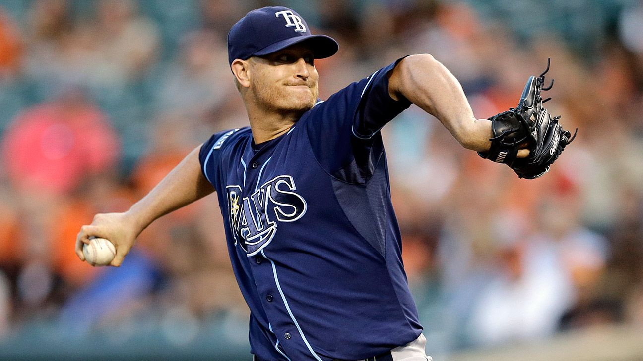 Report: Alex Cobb will try to pitch through partial tear of elbow ligament