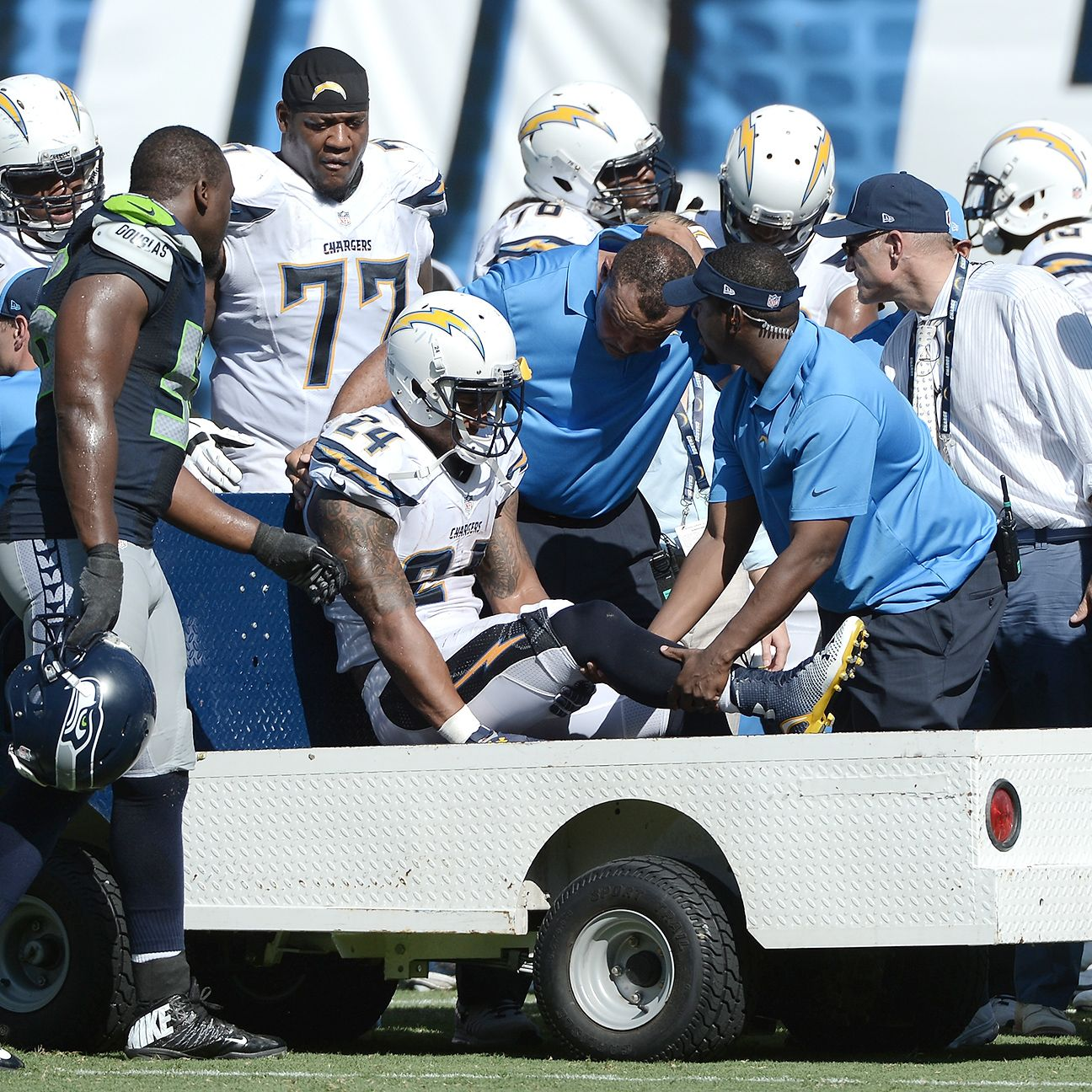 San Diego Chargers Attendance: Ryan Mathews Of San Diego Chargers Has Sprained MCL, Could