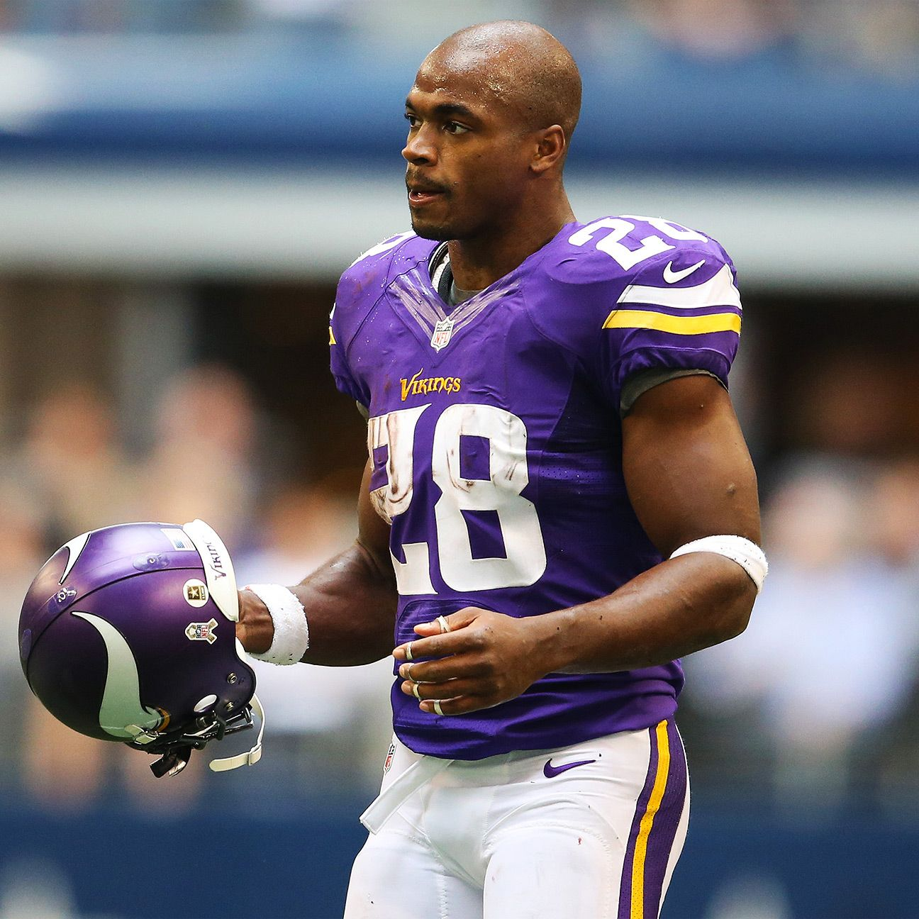 Adrian peterson barred from all minnesota vikings activities