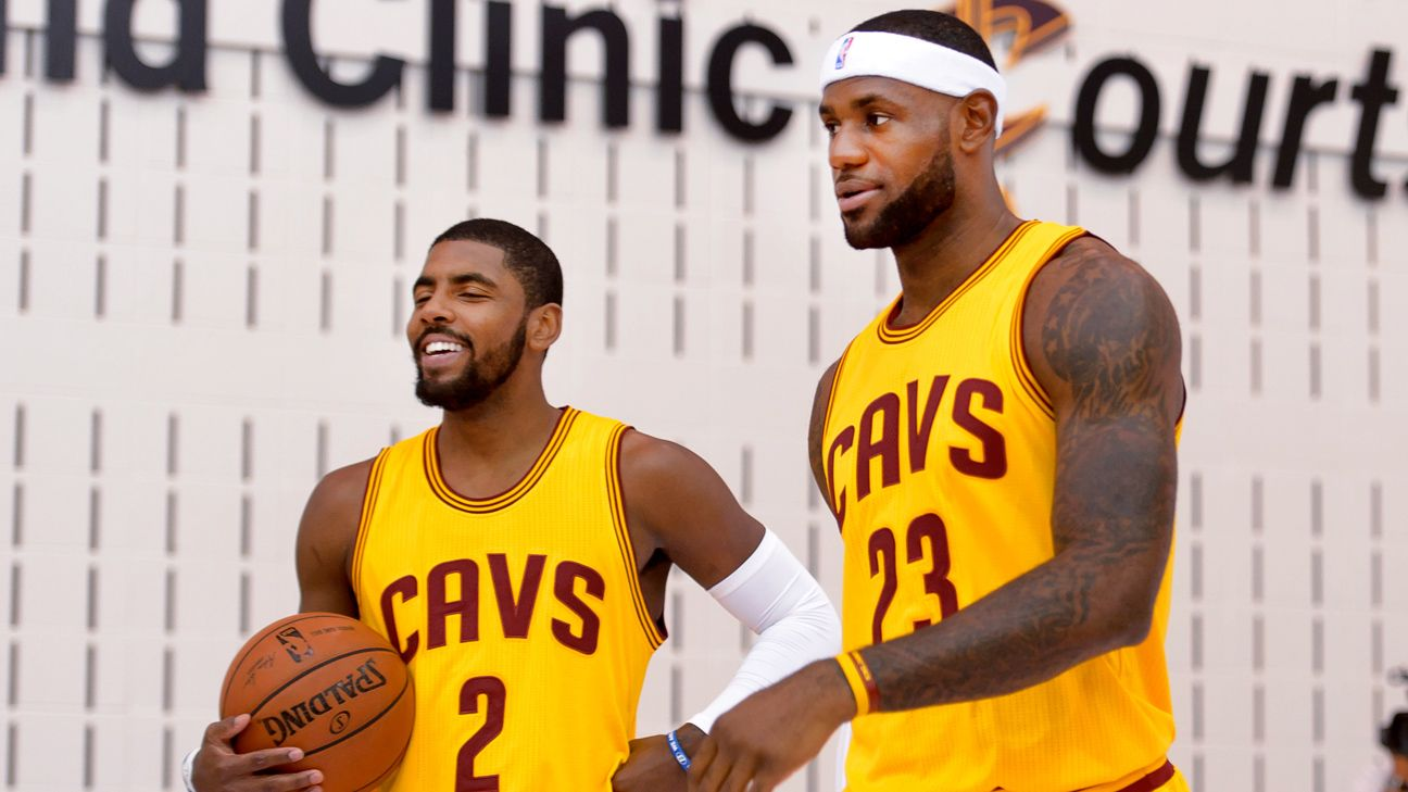 LeBron James of Cleveland Cavaliers denies reported role in Kyrie Irving trade demand saga