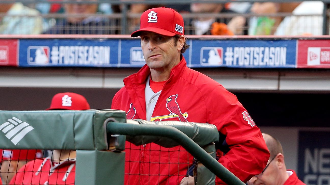 The Cardinals fired manager Mike Matheny and two hitting coaches Saturday night, shortly after a loss to the Reds dropped them to 47-46.