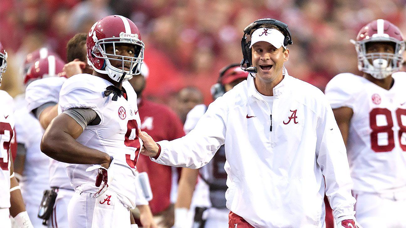 Lane Kiffin has energized Alabama offense