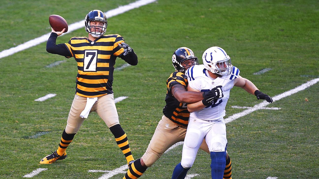 Ben Roethlisberger Enjoys Record Setting Day Passes For 522 Yards 6 TD In Pittsburgh Steelers Win Over Indianapolis Colts