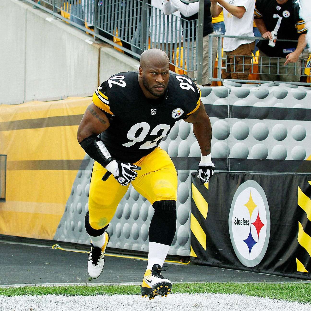 Two Games Two Sacks For Steelers Lb James Harrison In