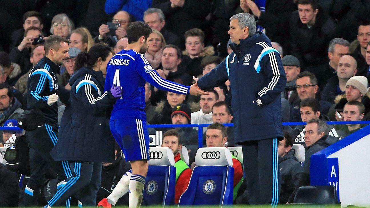 Fabregas on Mourinho: 'I love him'