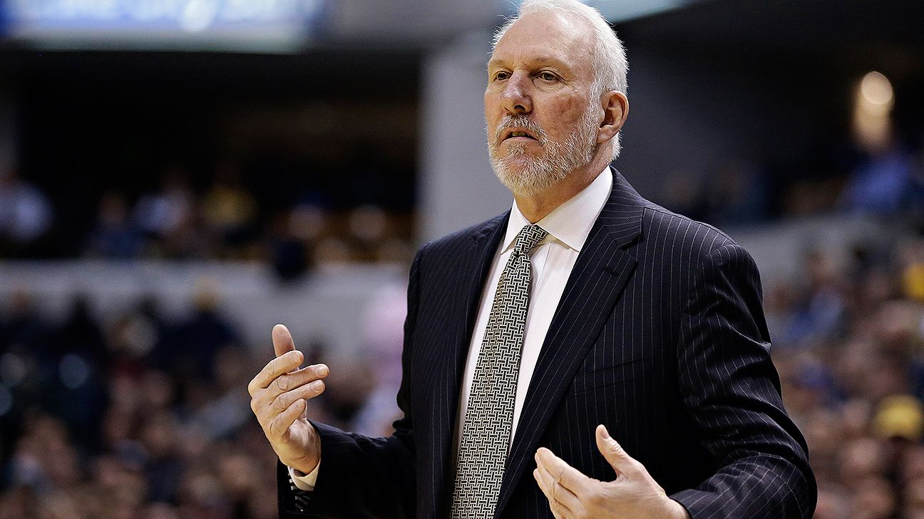 Gregg Popovich on free agency: 'I'm not calling anyone at midnight'