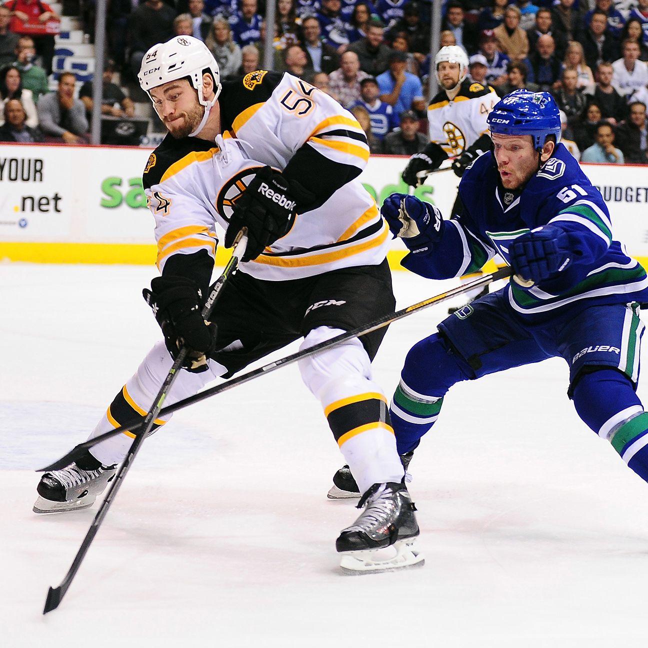 Boston Bruins Resign Adam McQuaid
