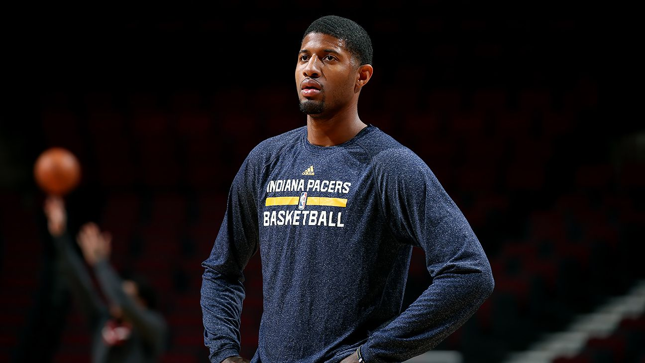 Paul George 'going with the flow'