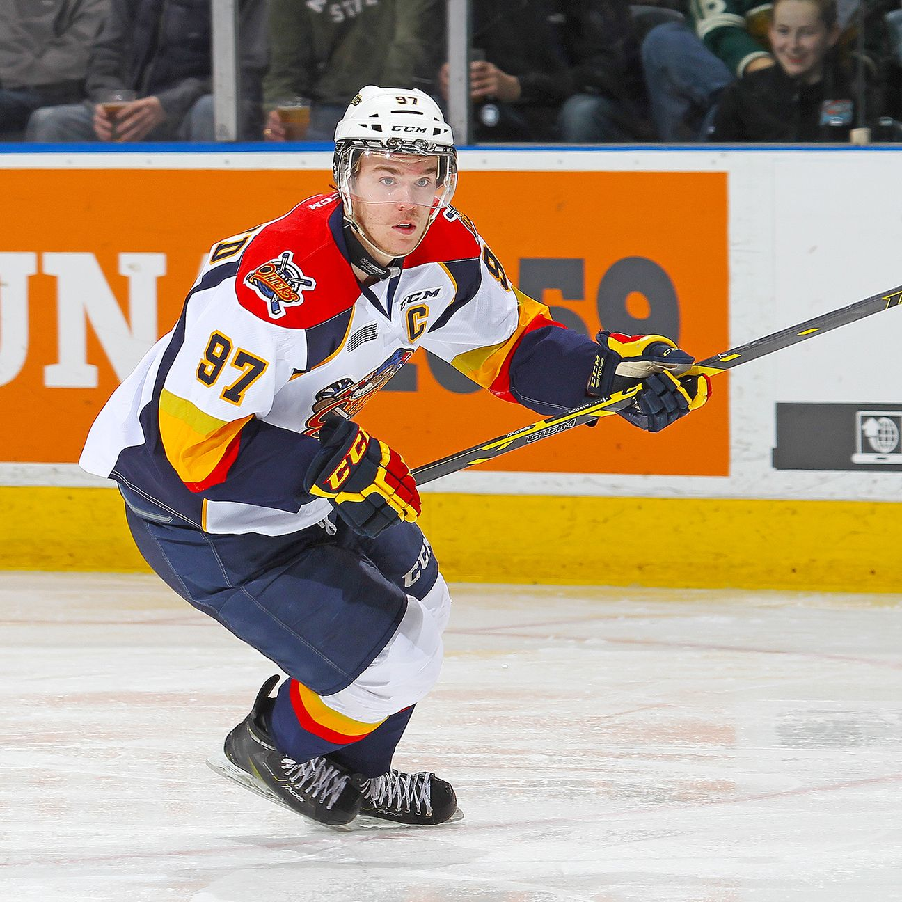 Connor McDavid Honored As Canadian Junior Hockey Player Of