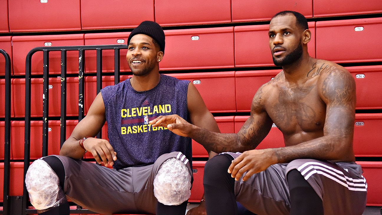 LeBron James: Done speaking about Tristan Thompson's contract talks