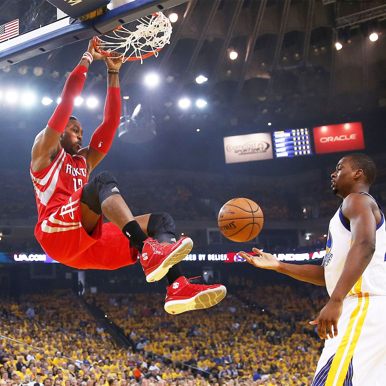 Houston Rockets Western Conference Finals: Dwight Howard Of Houston Rockets To Play In Game 2 Of
