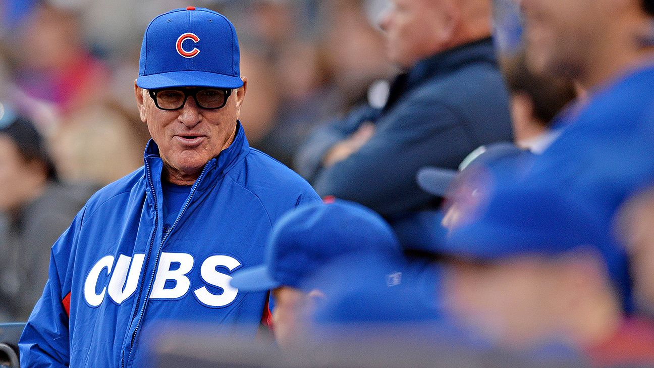 Why Joe Maddon bats the pitcher eighth in the Cubs' lineup