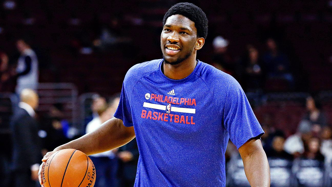 Joel Embiid's injured foot excluded from 76ers' insurance policy