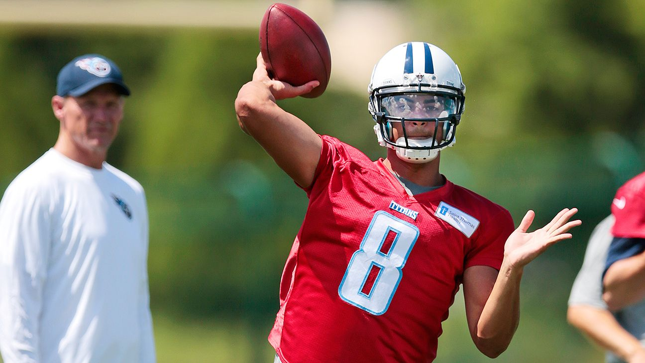 Top 10 things we learned from OTAs: Mariota, Winston are for real